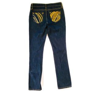 Southpole Jeans Low Rise Embellished Pockets